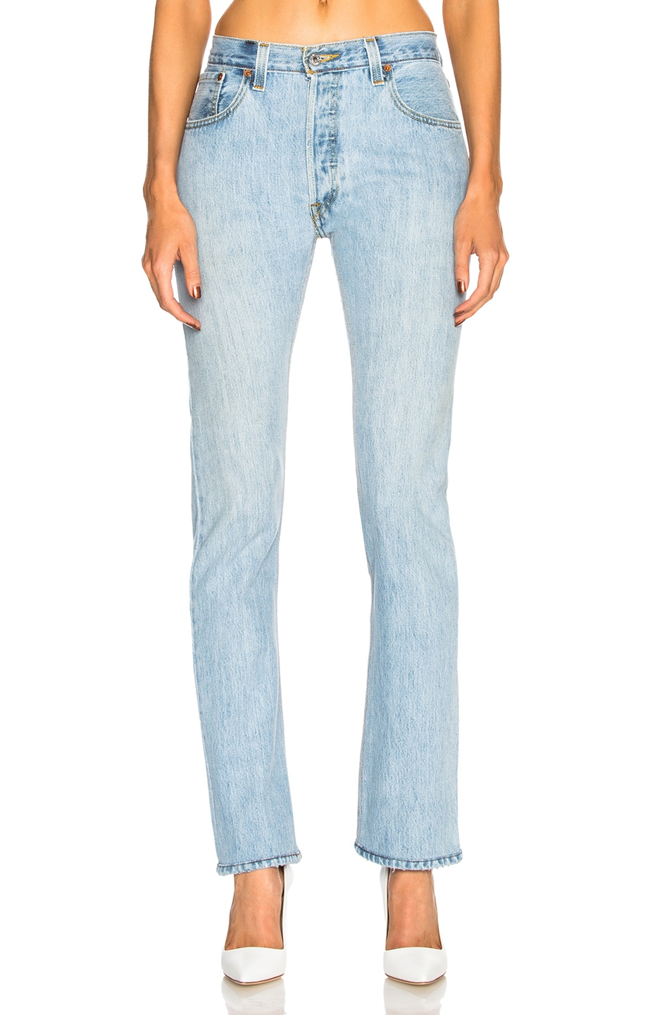 Image 1 of RE/DONE LEVI'S Cindy Crawford The Crawford High Rise in Indigo