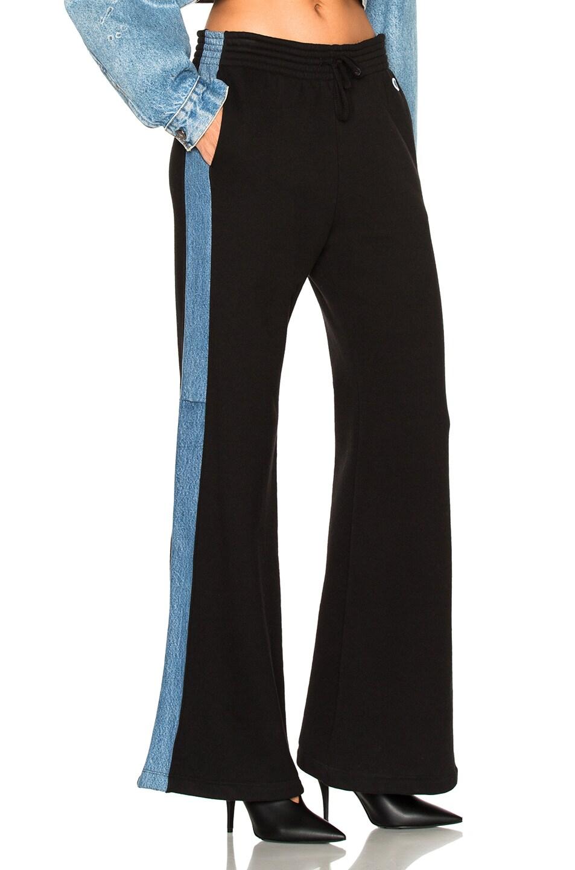 Image 3 of RE/DONE ORIGINALS Sweatpant in Black