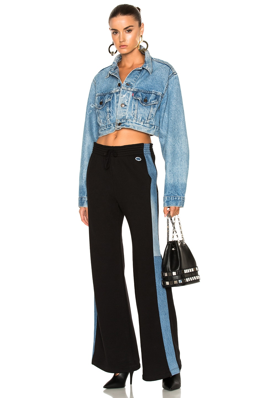 Image 5 of RE/DONE ORIGINALS Sweatpant in Black