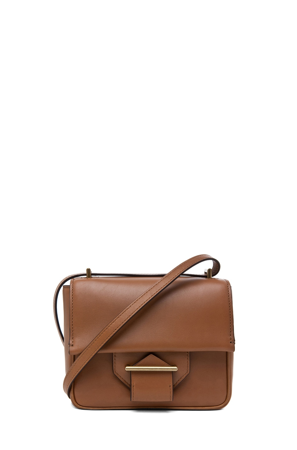 Image 1 of Reed Krakoff Standard Mini Shoulder Bag in Saddle