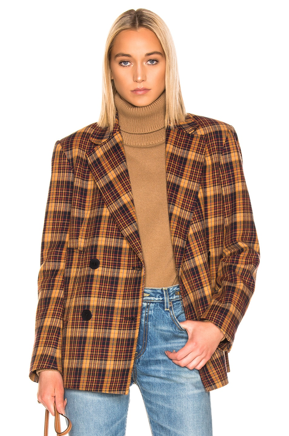 Image 1 of REMAIN Debbie Jacket in Winter Check