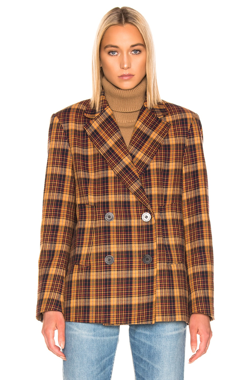 Image 2 of REMAIN Debbie Jacket in Winter Check