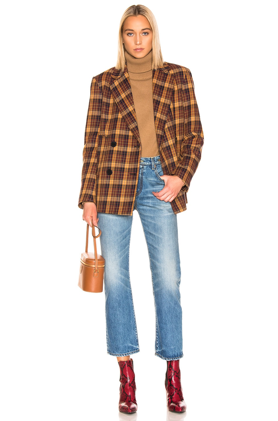 Image 5 of REMAIN Debbie Jacket in Winter Check