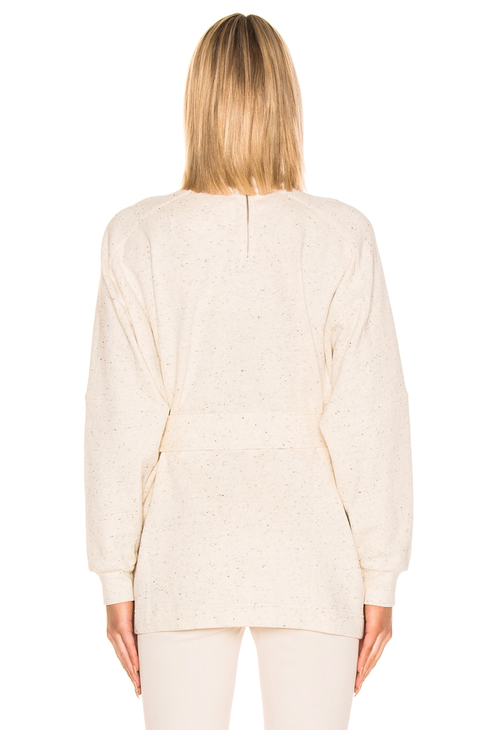 Image 3 of REMAIN Amo Long Sleeve High Neck Top in Cream
