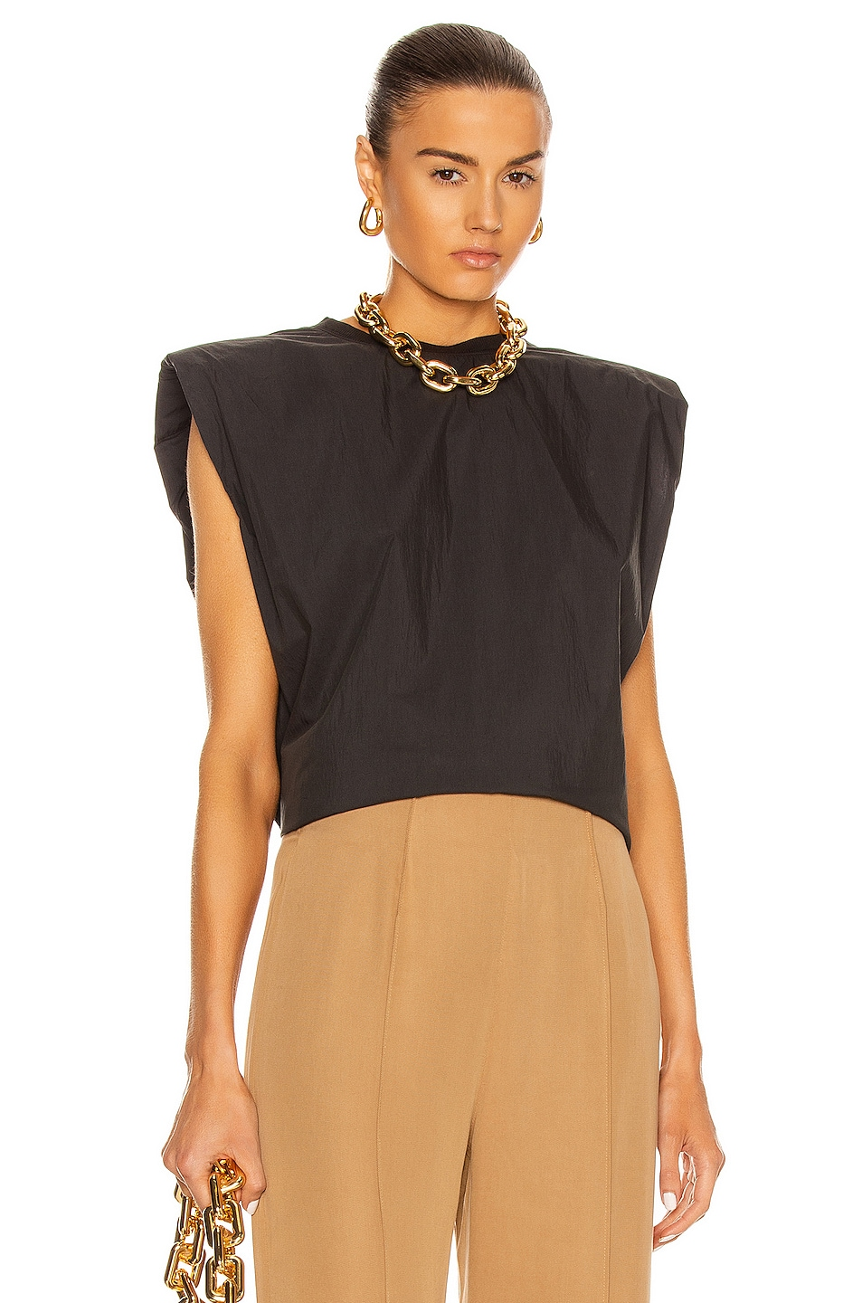 Image 1 of REMAIN Christie Top in Black