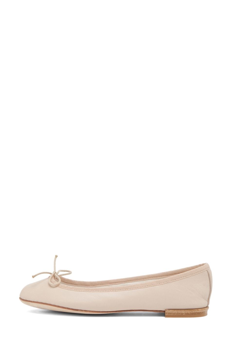 Image 1 of Repetto Lambskin Flat in Nude