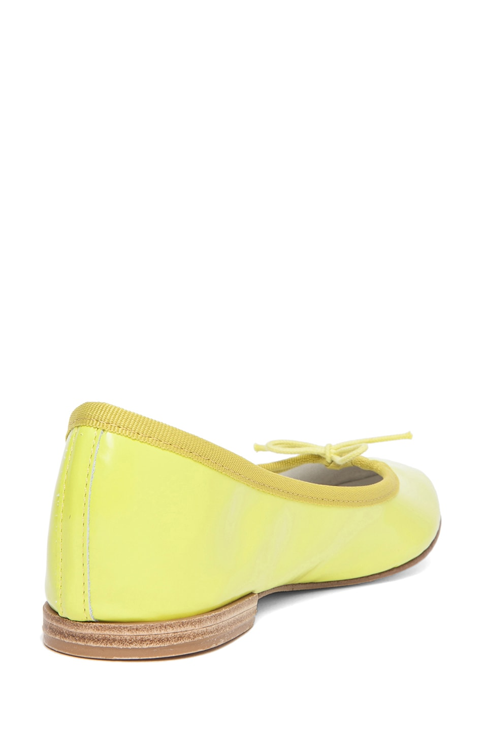 Image 3 of Repetto Glazed Flat in Lime Zest
