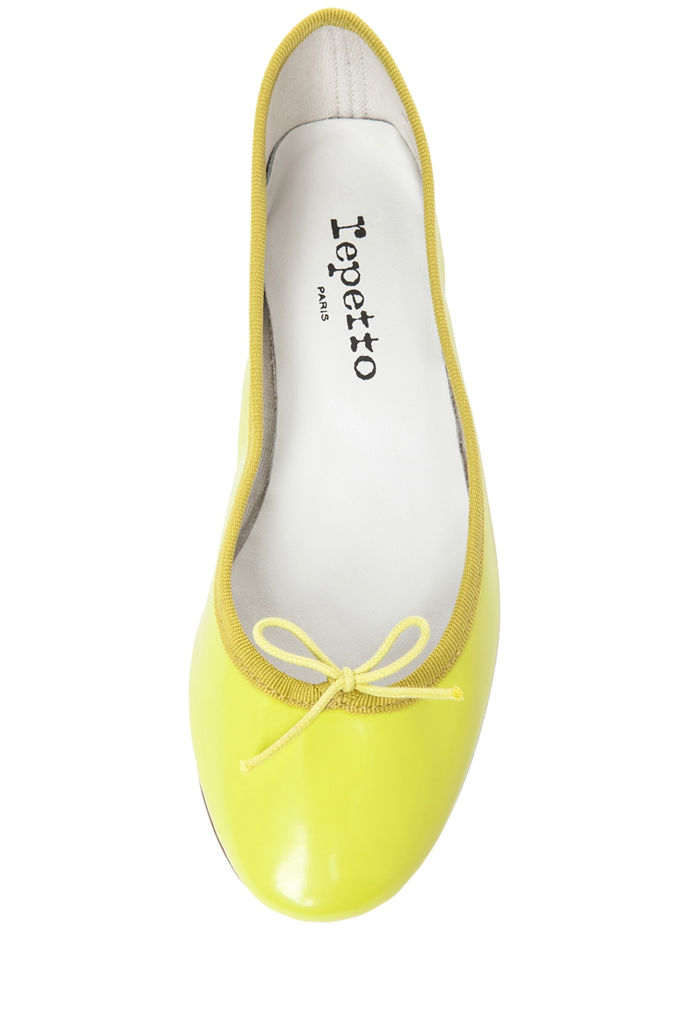 Image 4 of Repetto Glazed Flat in Lime Zest