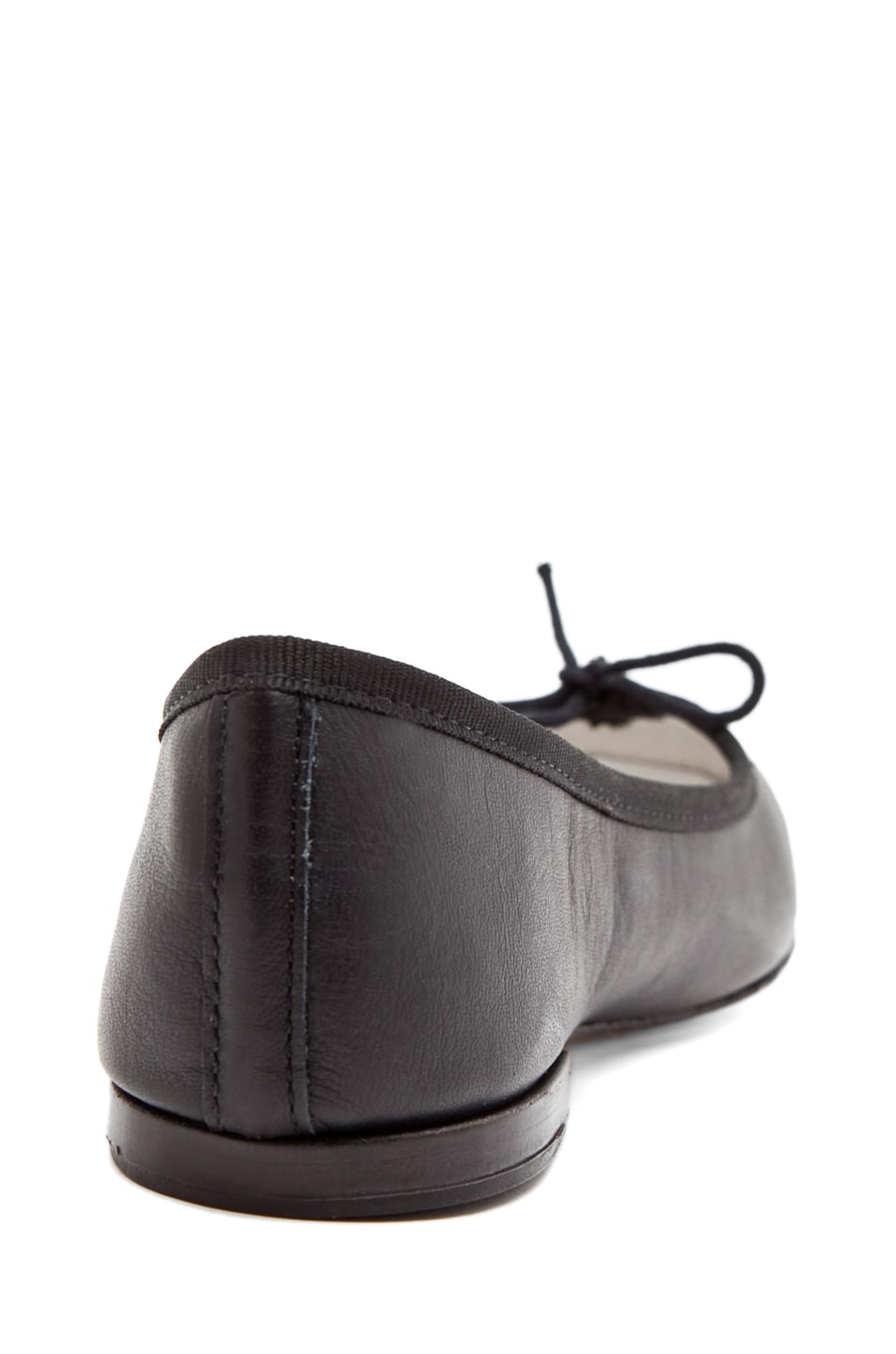 Image 3 of Repetto Calfskin Leather Flats in Black