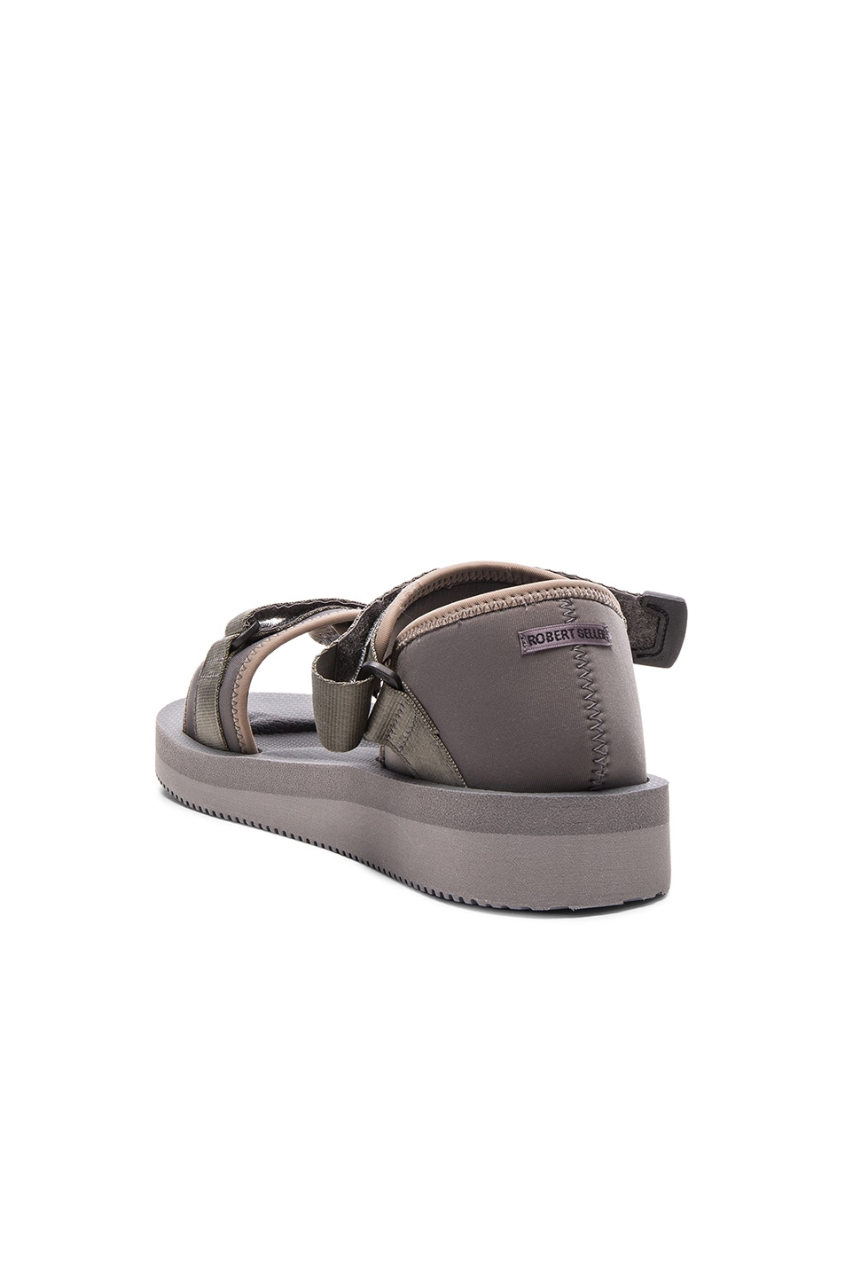 917c114aec3 Image 3 of Robert Geller Suicoke Sandals in Grey