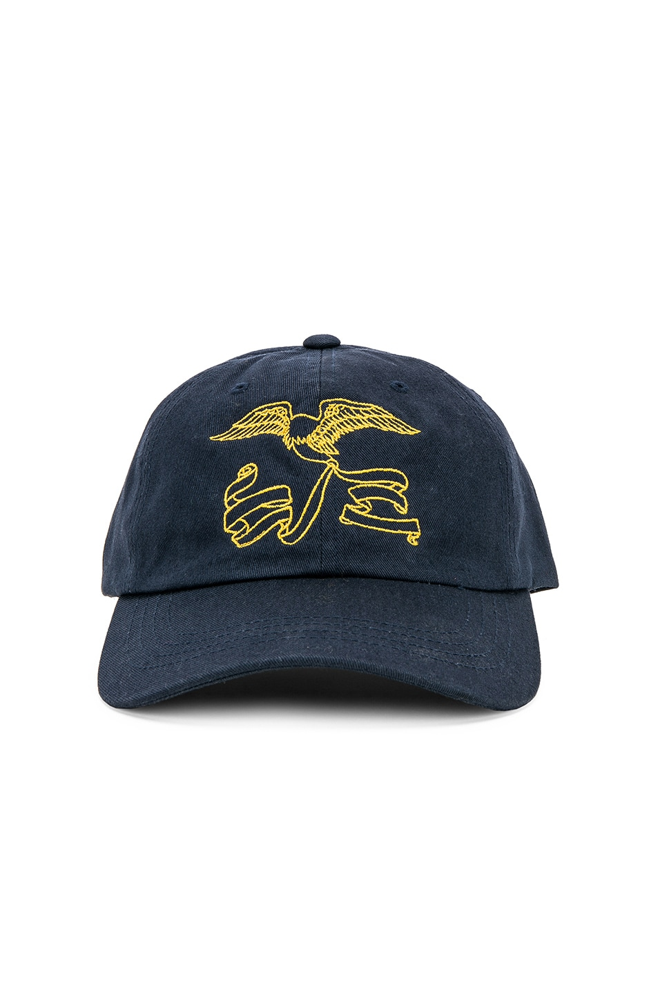 Image 1 of Reese Cooper Awoi Eagle Cap in Navy & Yellow