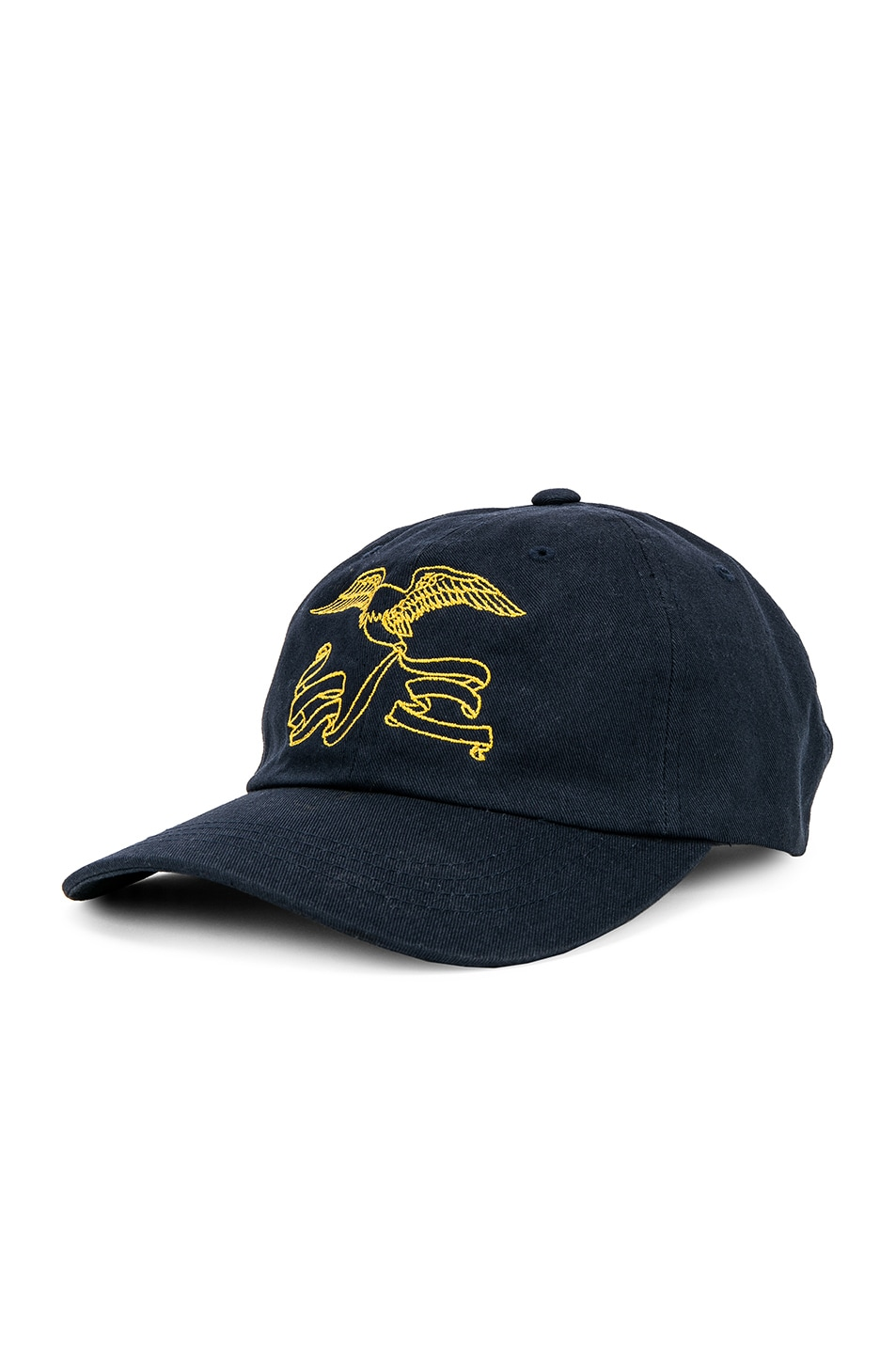 Image 2 of Reese Cooper Awoi Eagle Cap in Navy & Yellow