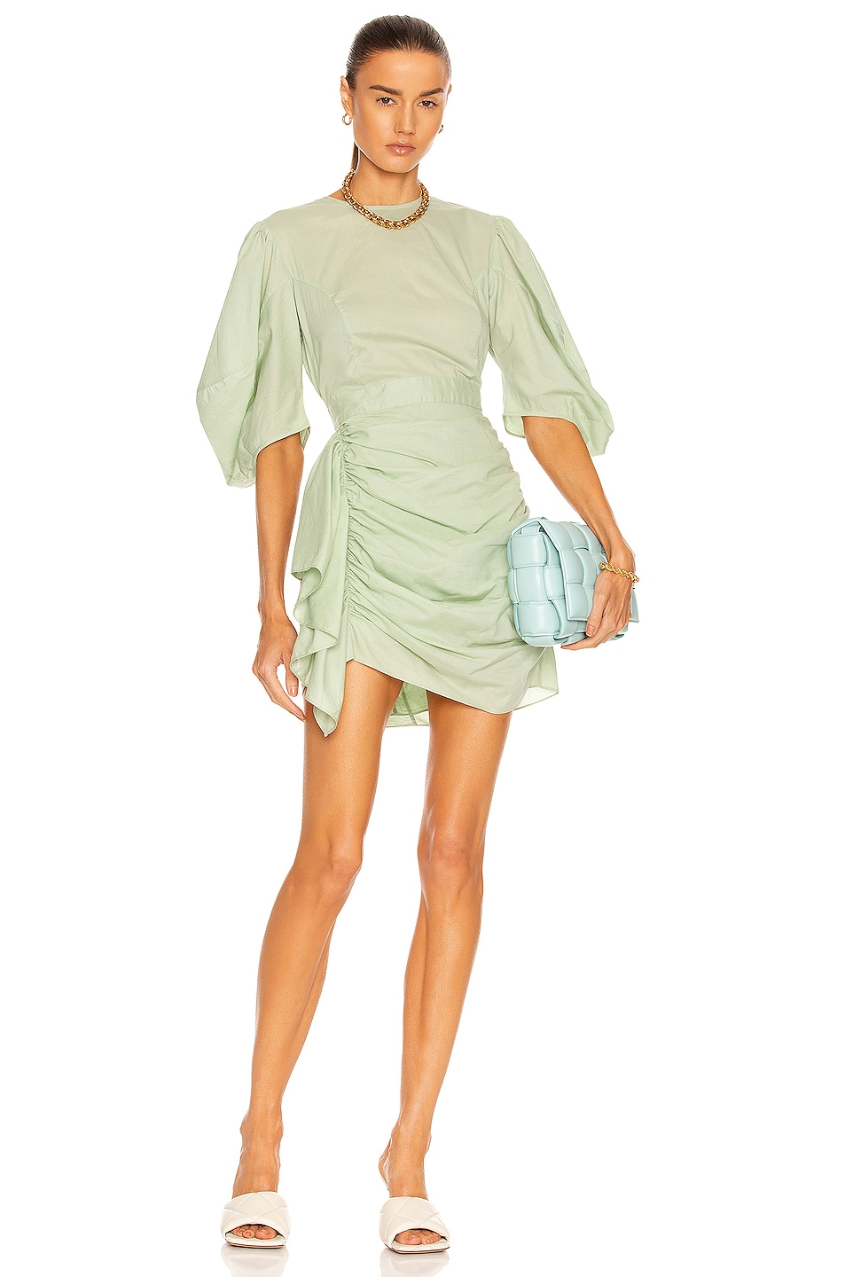 Image 1 of Rhode Pia Dress in Army Green