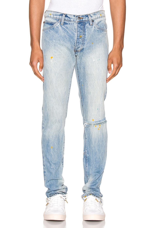 Image 1 of Rhude Denim Jean in Blue