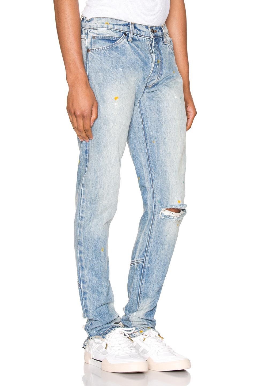 Image 2 of Rhude Denim Jean in Blue