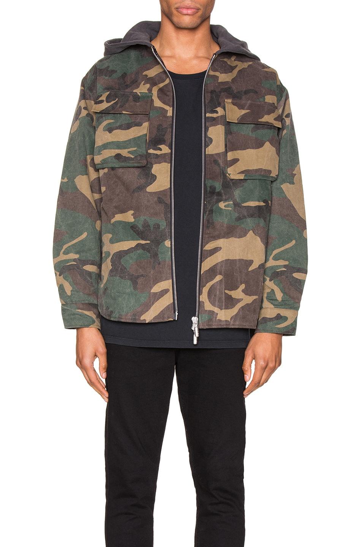 Rhude Jackets Camo Jacket