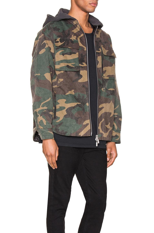 Image 3 of Rhude Camo Jacket in Camo