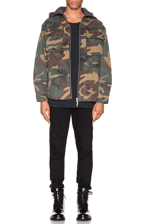 Image 5 of Rhude Camo Jacket in Camo