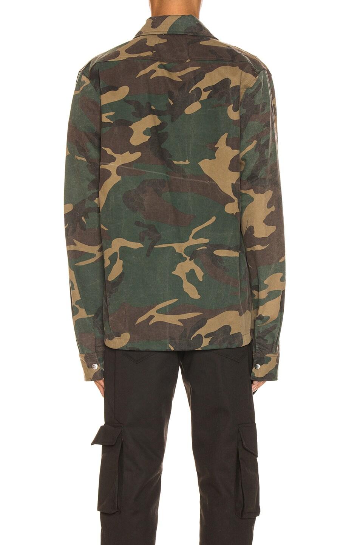 Image 4 of Rhude Drawstring Jacket in Camo