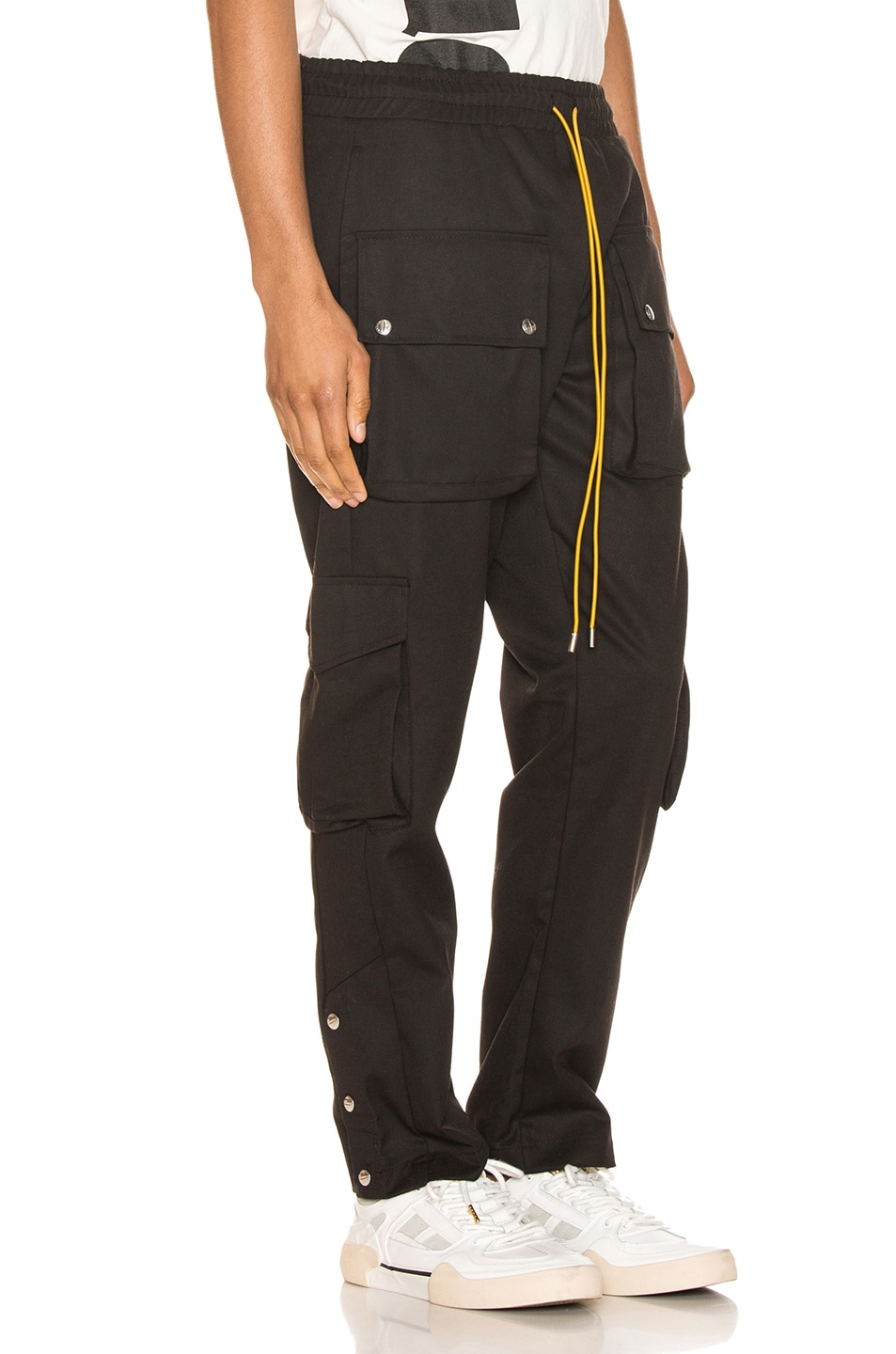 Image 2 of Rhude Classic Cargos in Black
