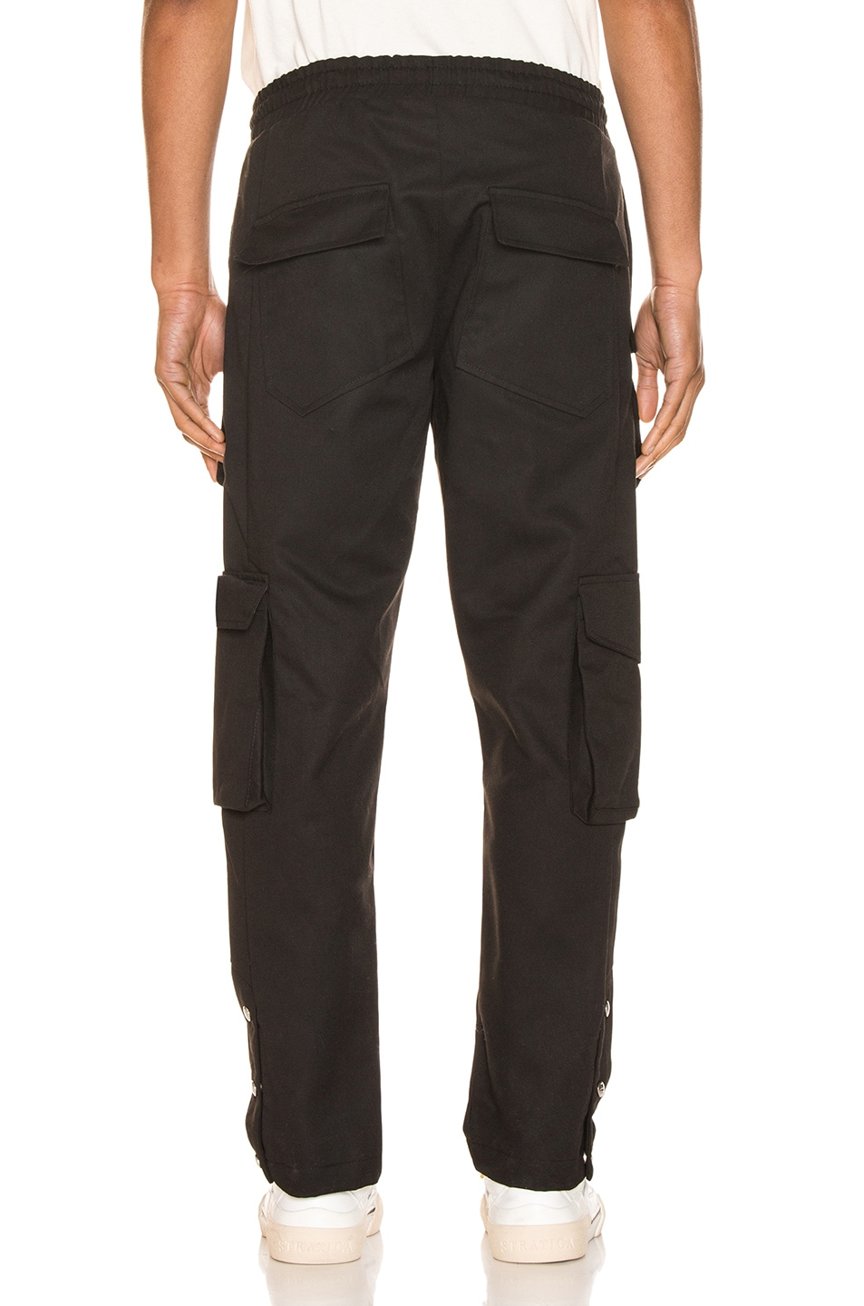 Image 3 of Rhude Classic Cargos in Black