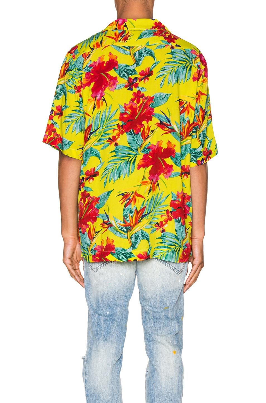 Image 3 of Rhude Hawaiian Shirt in Green