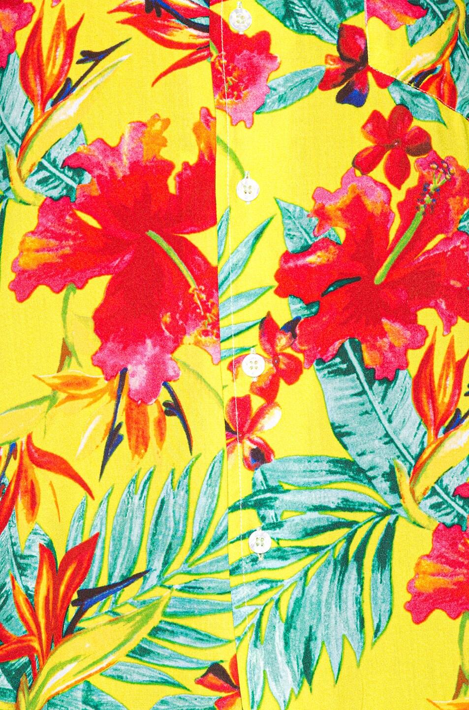 Image 5 of Rhude Hawaiian Shirt in Green