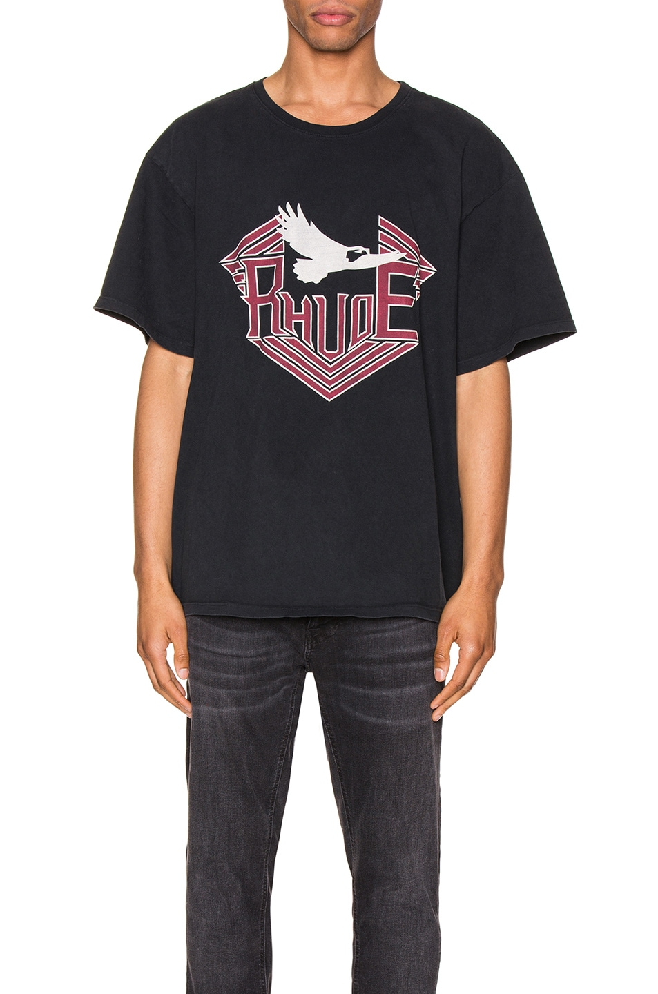 Image 1 of Rhude Rhanger Tee in Black