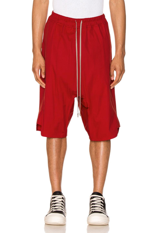 Image 1 of Rick Owens Basket Swinger in Cardinal Red