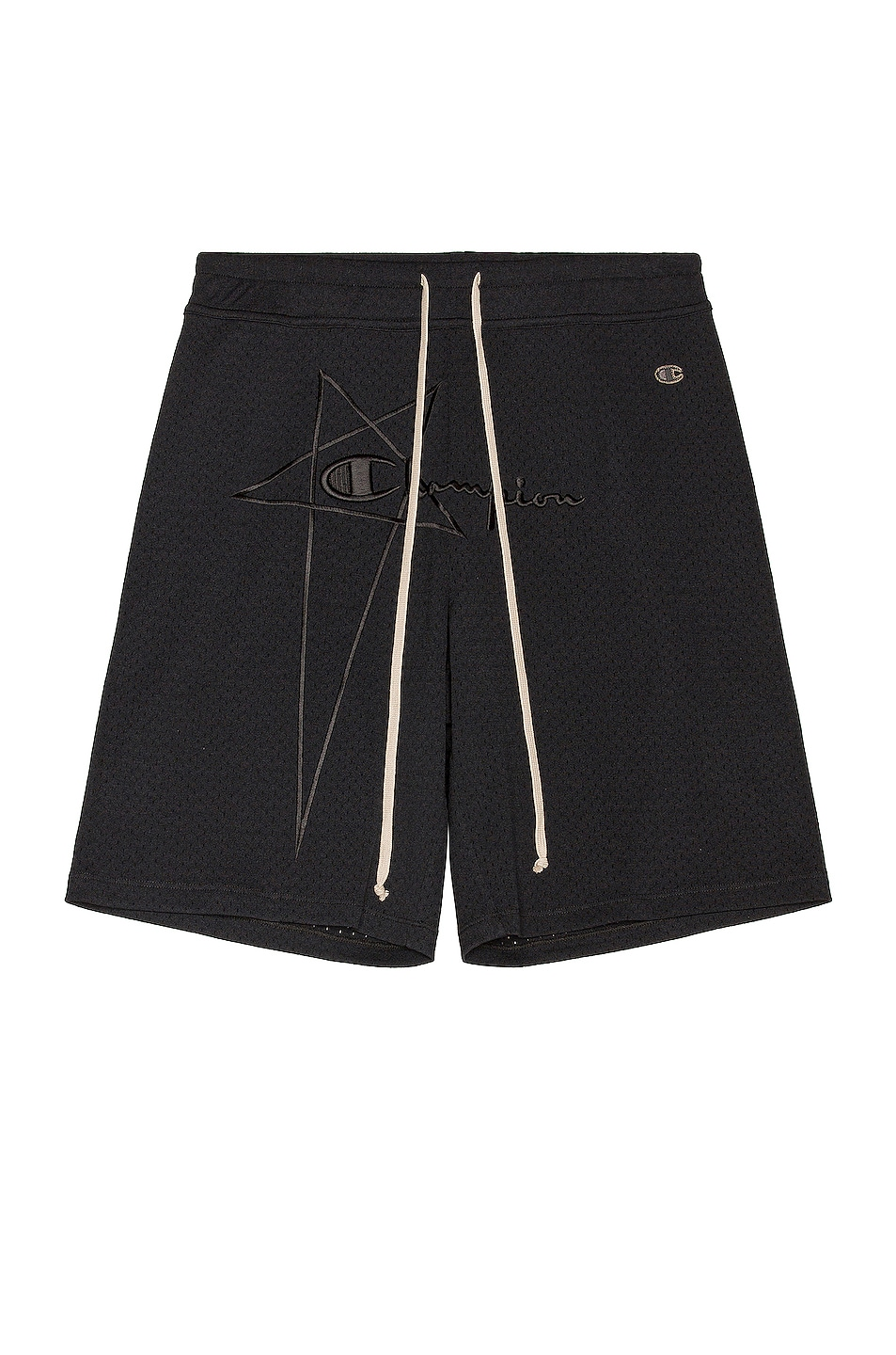 Image 1 of Rick Owens x Champion Classic Mesh Shorts in Black