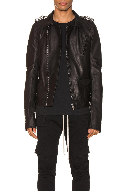 Image 1 of Rick Owens Stooges Jacket in Black
