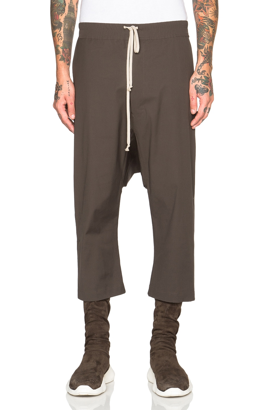 cropped trousers - Brown Rick Owens Wholesale Price For Sale Supply Cheap Online jhCcAx