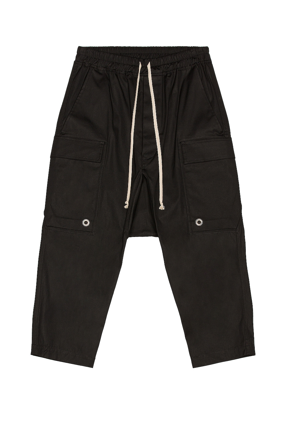 Image 1 of Rick Owens Cargo Cropped in Black