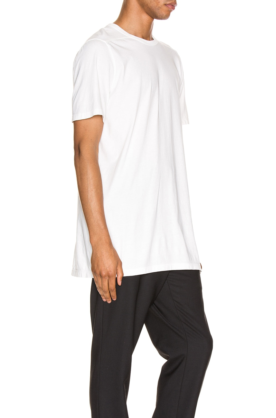 Image 2 of Rick Owens Level Tee in White