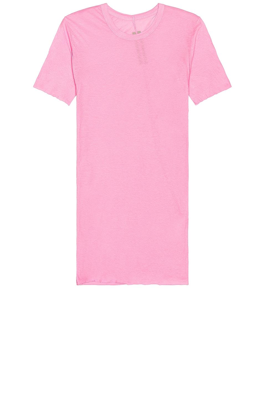 Image 1 of Rick Owens Basic Tee in Pop Pink