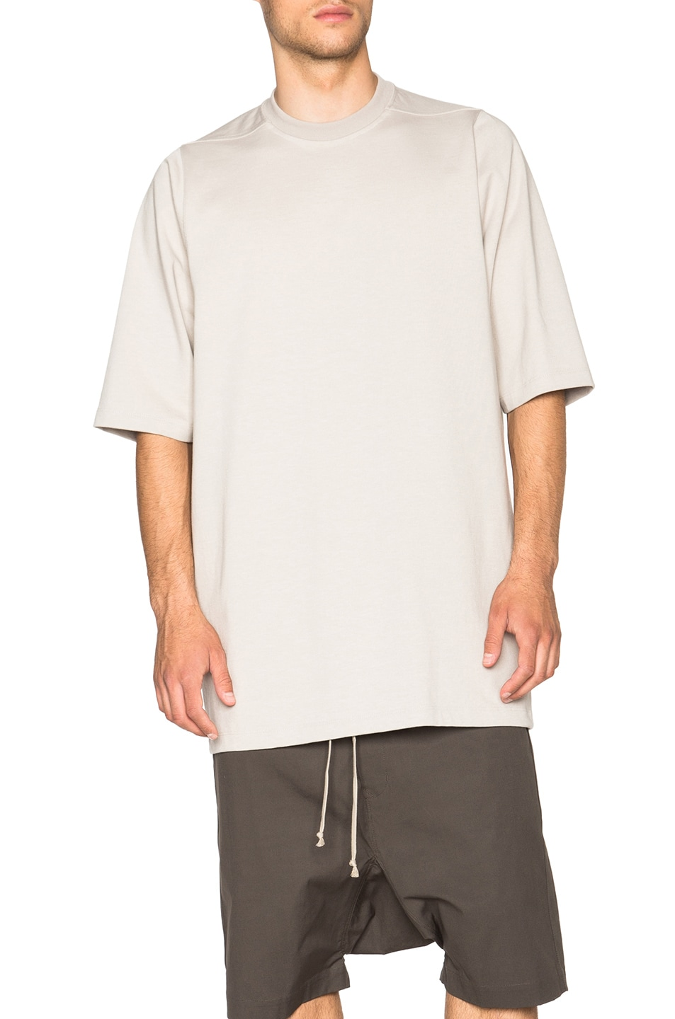 shortsleeved T-shirt - White Rick Owens Geniue Stockist Cheap Price Classic Online Clearance Ebay Buy Cheap Visa Payment Discount Limited Edition uSzXa5Ja3W