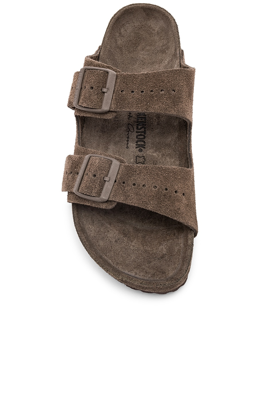 Image 4 of Rick Owens x Birkenstock Suede Arizona in Dust