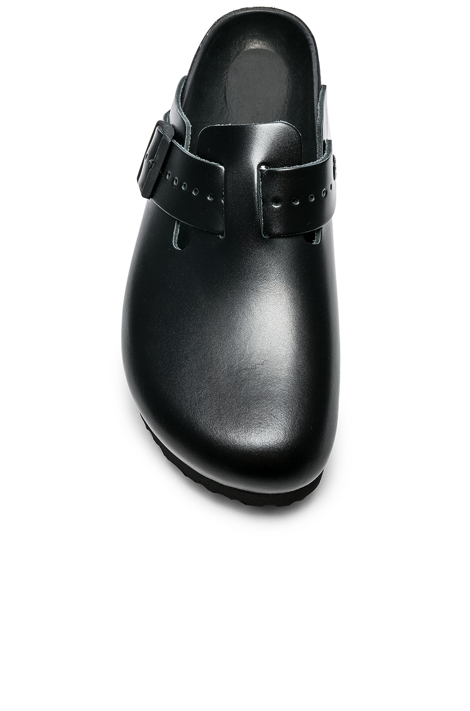 4de6f7c0afbf Image 4 of Rick Owens x Birkenstock Leather Boston in Black