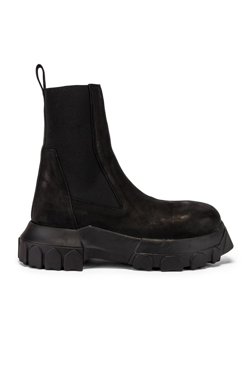 Image 2 of Rick Owens Bozo Beatles Boot in Black