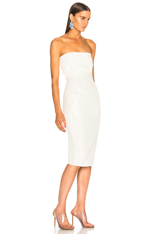 Image 2 of Rick Owens Bustier Dress in Milk