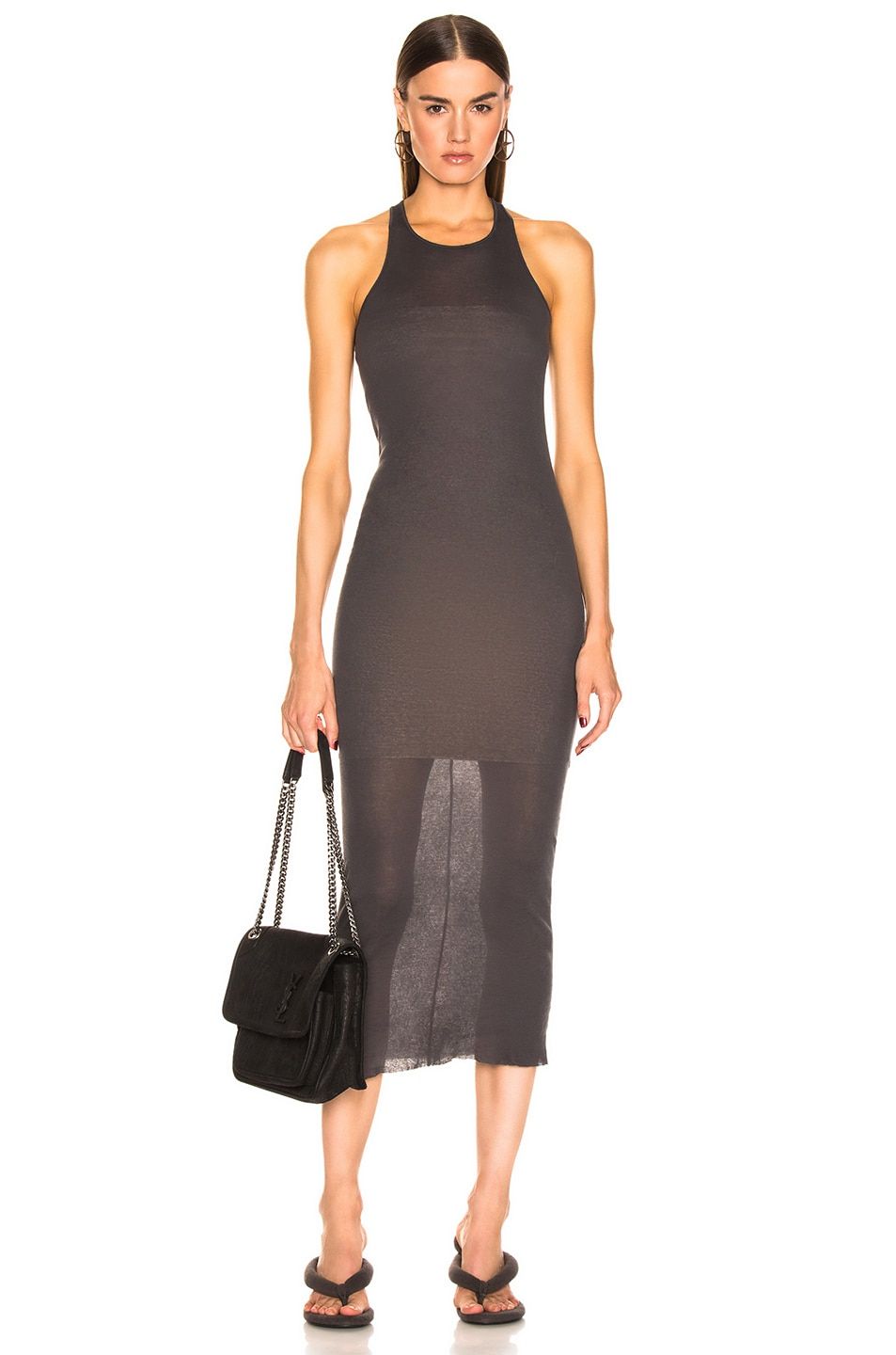 Image 1 of Rick Owens Tank Dress in Blujay