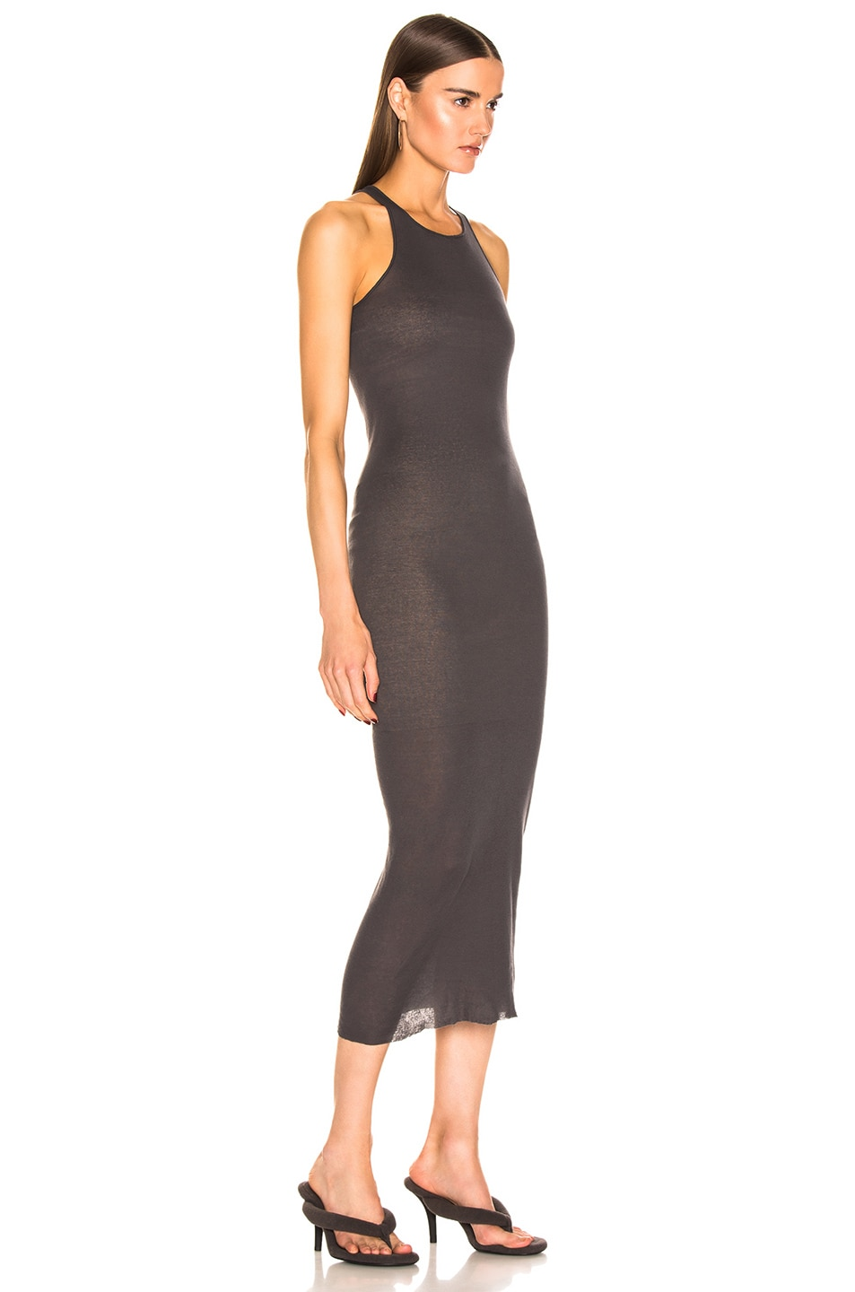 Image 2 of Rick Owens Tank Dress in Blujay
