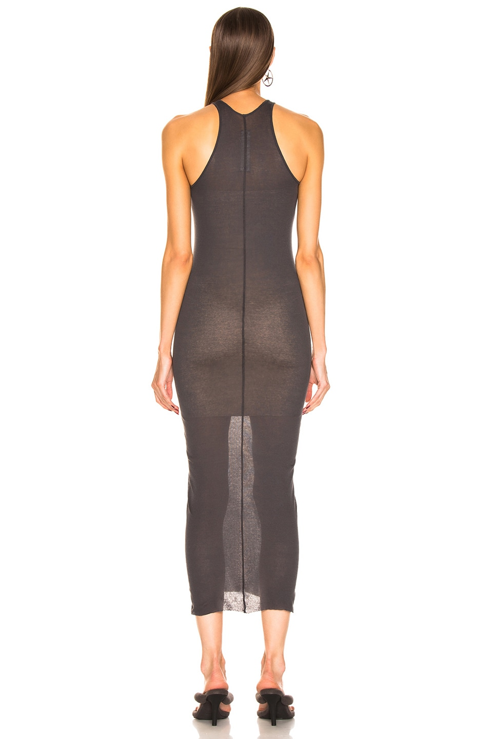 Image 3 of Rick Owens Tank Dress in Blujay