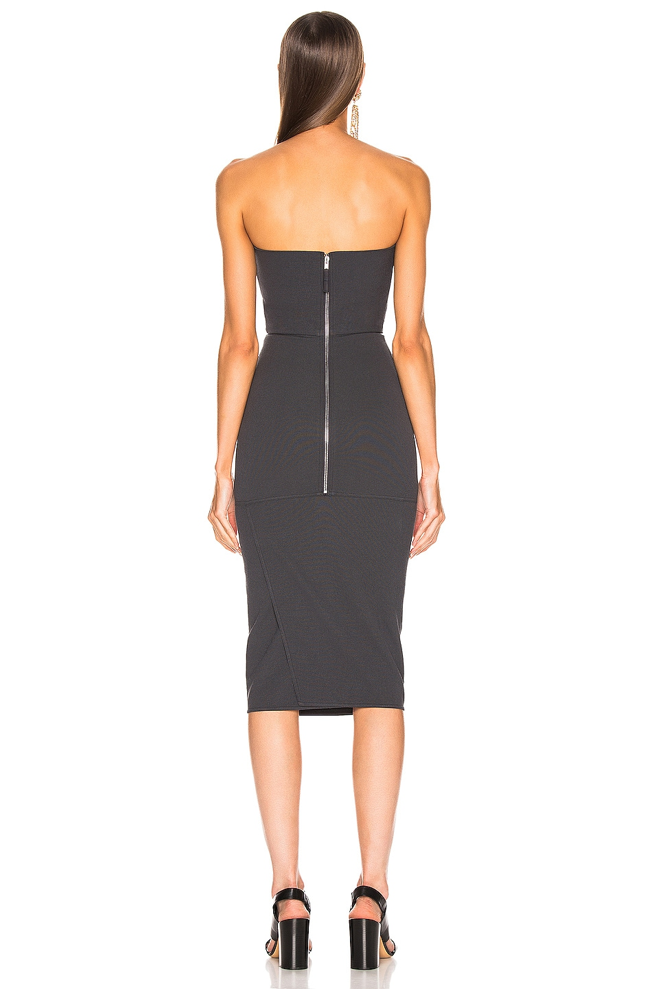 Image 3 of Rick Owens Bustier Dress in Blujay