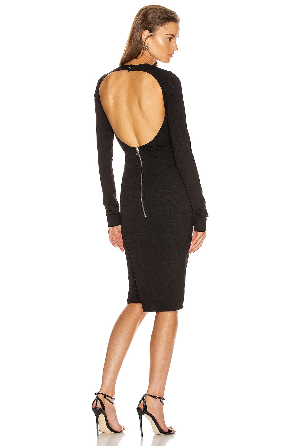 Image 1 of Rick Owens Sade Dress in Black