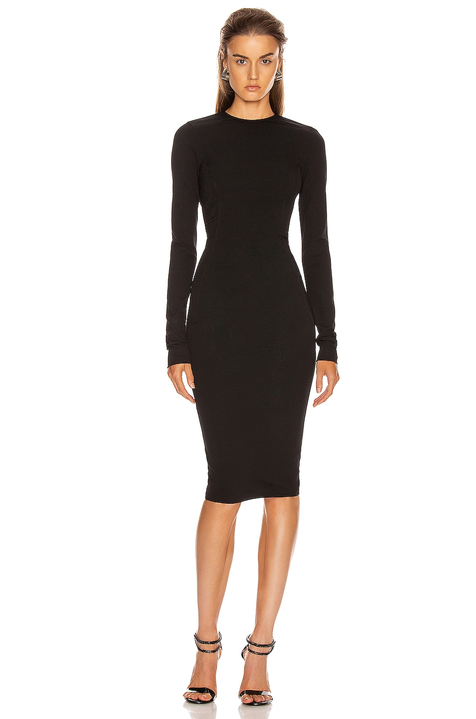 Image 2 of Rick Owens Sade Dress in Black