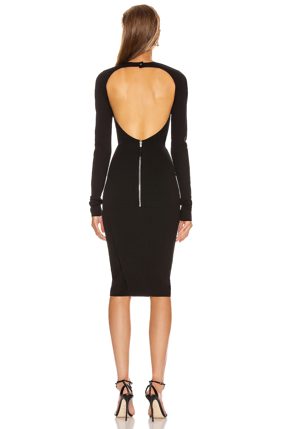 Image 4 of Rick Owens Sade Dress in Black
