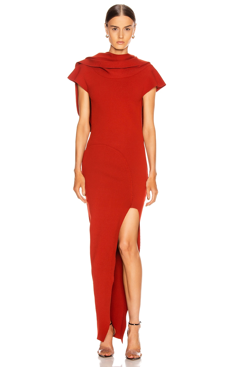 Image 2 of Rick Owens Theresa Dress in Cherry