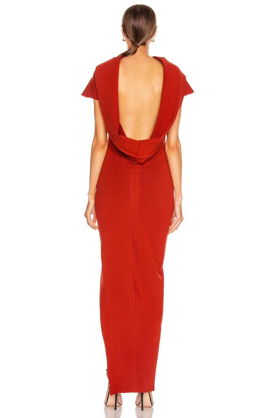 Image 5 of Rick Owens Theresa Dress in Cherry