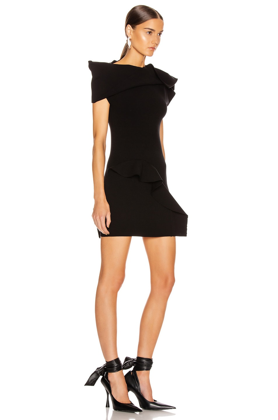 Image 2 of Rick Owens Sarah Tunic in Black